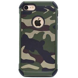 Camouflage hybride Combo Housse de protection rigide pour iPhone 5 / 5S / 6 / 6S Plus / iPhone 7 Plus Accessoires de téléphone cellulaire à partir de protection téléphone cellulaire fabricateur