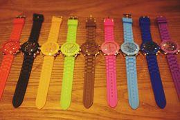 2017 Children Watch Fashion Casual Watches Waterproof Jelly Kids Clock boys girls Hours Students Dress Wrist watches