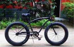 Wholesale 2016 new design fat tire beach cruiser bicycle bike chopper beach cruiser bicycle bike fat tire beach cruiser bicycle snow bike