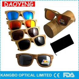 Wholesale High quality beach sunglasses women men bamboo wood sunglasses eyewear Christmas OEM eyeglasses UV400 protection