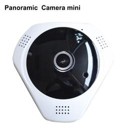 HD 3.0MP WiFi Panoramic Camera 360 Degree e-PTZ Fisheye Network IP CCTV Camera Video Storage Remote IR-CUT Onvif Audio-in hiseeu