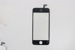 For iPhone5 Front LCD With Solid Glue Sticker iPhone5 TP +OCA Replacement Parts DHL free shipping
