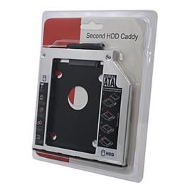 2017 una caja portadiscos disco Venta al por mayor - SATA a SATA 2do HDD Caddy 9.5mm 2.5