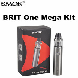 Wholesale Original SMOK BRIT One Mega Kit mah Brit Sub tank ml capacity with Misub Plus battery and Intelligent battery life indicator