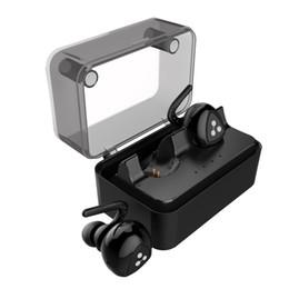 Promotion mains libres universel D900mini D900 mini-jumeaux True Bluetooth sans fil 4.1 écouteurs casque stéréo casque stéréo écouteurs de sport mains libres avec prise de boîte de charge micro