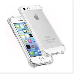 Wholesale 2016 New design clear TPU led light calling flashing cell phone case cover for iphone S SE s S plus with colors for sale DHL free