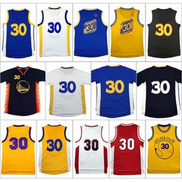 Wholesale Men s Stephen Curry jersey Embroidery Logos Adult High quality Stephen Curry Sleeveless jersey University Free Shippi