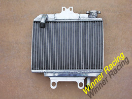 Wholesale ATV parts accessories RADIATOR For HONDA CR125R aluminum water box motorcycle replacement parts engine cooling parts