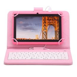 """US Stock! iRULU eXpro 3 Tablet Multi-Color 7"""" Google GMS Android 6.0 Quad Core Dual Cameras 1GB+8GB 16GB Tablet PC Bundle Keyboard"""