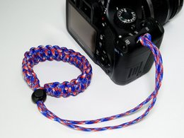 Outdoor lifesaving rope adjustable camera wrist strap