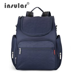 Wholesale Waterproof 210D Nylon Baby Dipaer Bag Backpack Multifuntional Nappy Bag Mommy Backpack