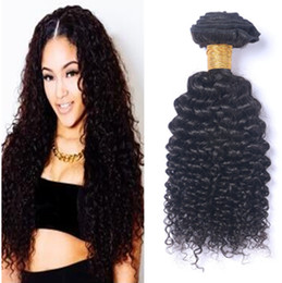24 profonds faisceaux de cheveux bouclés à vendre-Ruma cheveux 3 pcs Malaisie cheveux paquets non transformés bouclés Virgin cheveux bouclés tisser extensions Kinky Curl Deep bouclés haute Qulity gratuit Shuipping