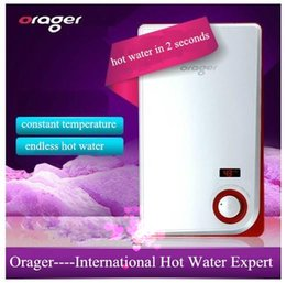 Wholesale Electric Constant Temperature W Best Energy Saving Tankless Shower Water Heater Household School Hotel Hospital Bathroom hot Boiler