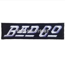 Wholesale BAD COMPANY CO PAUL RODGERS EMBROIDERY patch Heavy Metal Music Rock Punk Rockabilly woven sew on iron on badge transfer