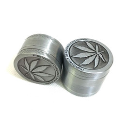 3layers 4layers Latest Silver Aluminum Alloy leaf Grinders Metal Rasta Tobacco Herb Spice Grinder for Smoking Chicha Pipes 3Part Shisha Mini