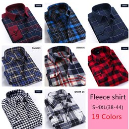 Men Plaids Flannel Shirt Fashion Classic Shirts Casual Long Sleeve Button Down T-shirt Plus Size S-4XL