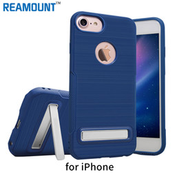 Wholesale Kickstand Case for iPhone 7 7 Plus Phone Cases TPU Phone Sleek Stand Cover for iPhone 6 6 Plus