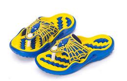 child shoes kid flip flops spider man beach summer candy colour cute
