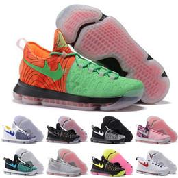 Promotion kds blanc (Avec Boite) Kd 9 Chaussures De Basket-ball Sneakers Runing Kevins Kds VIIII Lowe Elite Blanc Durant Hommes Réplique Kd9 Zapatillas Deportives Chaussures De Sport
