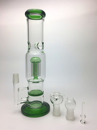 Oil rigs cheap bong glass smoking water pipes arm tree and honeycomb glass hookahs 12.5inches