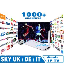 Wholesale Best IPTV for Arabic Europe italy france channels Android tv Dongle Stick box selectable Sky news bbc Bein Sports on mag250 vu