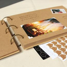 A4 carpeta de anillos Álbum de fotos Kraft libro de recuerdos boda desde a4 aglutinantes de anillos proveedores