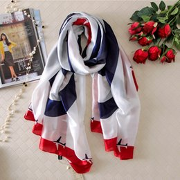 Wholesale 180x90 Airplane Silk Scarf Brand Women Fashion Shawl Large Blanket Scarves Foulard Femme Hot