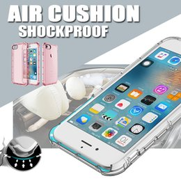 Wholesale Air Cushion Shockproof Slim Thin Soft TPU Protective Cover Case Skin For Apple iPhone S Plus inch MOQ