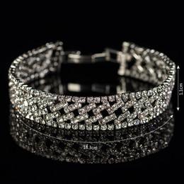 Brand Design Fashion Wedding Crystal Bracelet jewelry Beads Rhinestone bracelets women Accessories Wholesale 2017 women jewelry