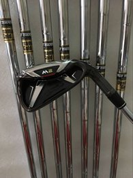 Canada 8PCS M2 Golf Irons 456789PS avec Dynamic Gold Steel S300 Shaft Come headcover M2 Clubs de golf Irons Offre
