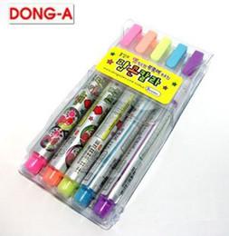 Wholesale Korea Diy Box - Wholesale-1 PC   PACK Korea East magical popcorn pen bubble pen pen creative DIY random color
