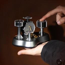 Ensembles de batterie en Ligne-Livraison gratuite !!! Mini Finger Drum Set Touch Drumming LED Light Jazz Percussion Votre meilleur choix Cadeau parfait pour vos amis
