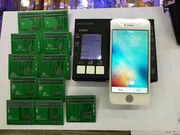 Écrans 4s en Ligne-7 dans 1 Tester Test Board pour iPhone 4g / 4s / 5g / 5s / 5c / 6 / 6Plus / 6s / 6sPlus inch LCD Display Touch Screen Digitizer Test Frame Via DHL Free