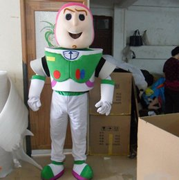 Wholesale Toy Story Buzz Lightyear Mascot Costume Cartoon Character party and festival supply Adult Size