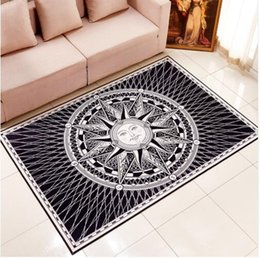 Wholesale Fashion carpet living room coffee table mats rectangle brief modern hallway mat Bathroom Parlor Hallway Living Room