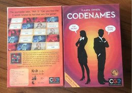 2017 Newest Codenames Party Game Funny Games For Adults social word game a simple premise and challenging game play