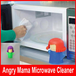Wholesale Microwave Oven Steam Cleaner Angry Mama Steam Cleans and Disinfects With Vinegar and Water for Home or Office Kitchens