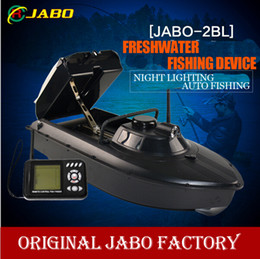 Wholesale 2016 Updated JABO BL Boat Fish Finder M Remote Control Bait Boat Water Depth Temperature Sonar detection tech RC boat vs JABO BS