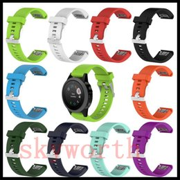 Soft Silicone Replacement Wrist Watch Band Strap Wristband for Garmin fenix 5S quickfit With Screw Tools 20MM