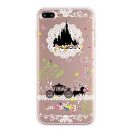 cases wholesales IPhone7 mobile phone shell, apple 7, Princess Alice protective cover, apple 6STPU mobile phone cover iphone leather cases