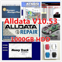 Wholesale 22 in alldata auto repair software alldata Mitchell software Vivid work shop manager plus ect in GB HDD auto repair