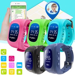 Q50 GPS Smart Watch Baby Watch with SOS LBS Location Kids Safe Phone Fitness Sleep Pedometer Tracker For Android IOS Phone