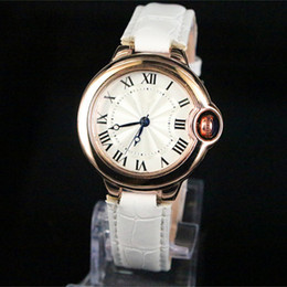 2018 Classic Man women watch Famous brand luxury wristwatch lovers clock top design rose gold genuine leather male female quartz watches