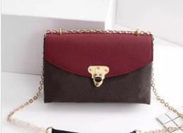 2018-9 Women bags Designer M43713M43714M43715 handbags Genuine Leather Messenger bag women Chains bag Saint Placide shoulder bags Purses