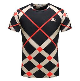 2018 Men's Spring Summer Casual Business T-shirt Classic Shirt Men's Shirt Classic Men's T-Shirt Trend T-Shirt 985569