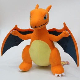 "Hot Sale 11.8"" 30cm Charizard Pikachu Plush Stuffed Doll Toy For Kids Best Holiday Gifts"