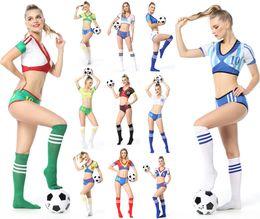 2018 World Cup cheerleading apparel national football team Baby Costume cheerleading performance