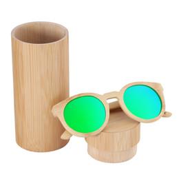 2018 Newest Fashion woman Bamboo sunglasses wood sunglasses bamboo frames glasses polarized lens sunglasses hot sale style birthday gift