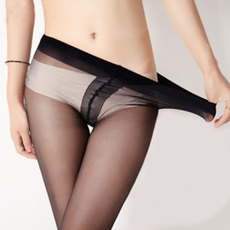 Silk stockings summer super thin panty hose, female skin color cored wire T file stockings, black stockings, stall socks