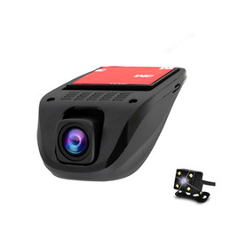 A2 1080P HD WIFI CAR DVR dash cam Camera Recorder with G-Sensor Motion Detection Camera Wide-angle Single Dual Lens Camera